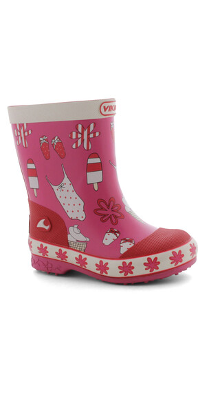 Viking Sol Boots Kids pink/red